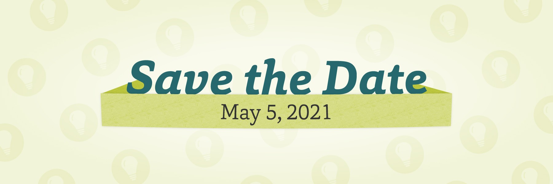 Save the Date - May 5, 2021